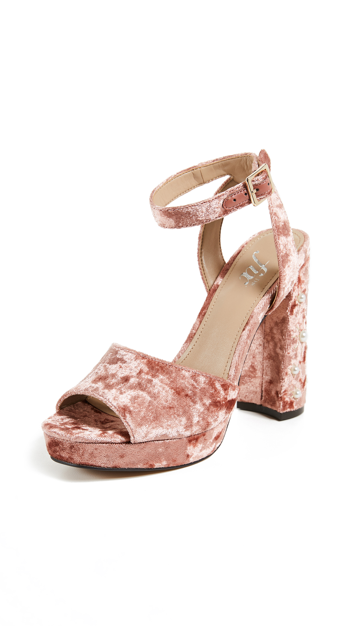 The Fix Genevieve Sandals - Sorbet