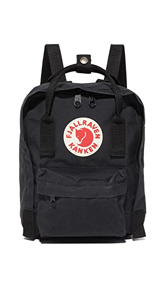 Fjallraven Kanken Mini Backpack - Black
