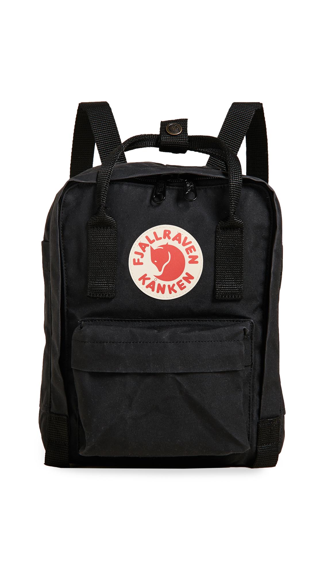 Fjallraven Kanken Mini Backpack - Black