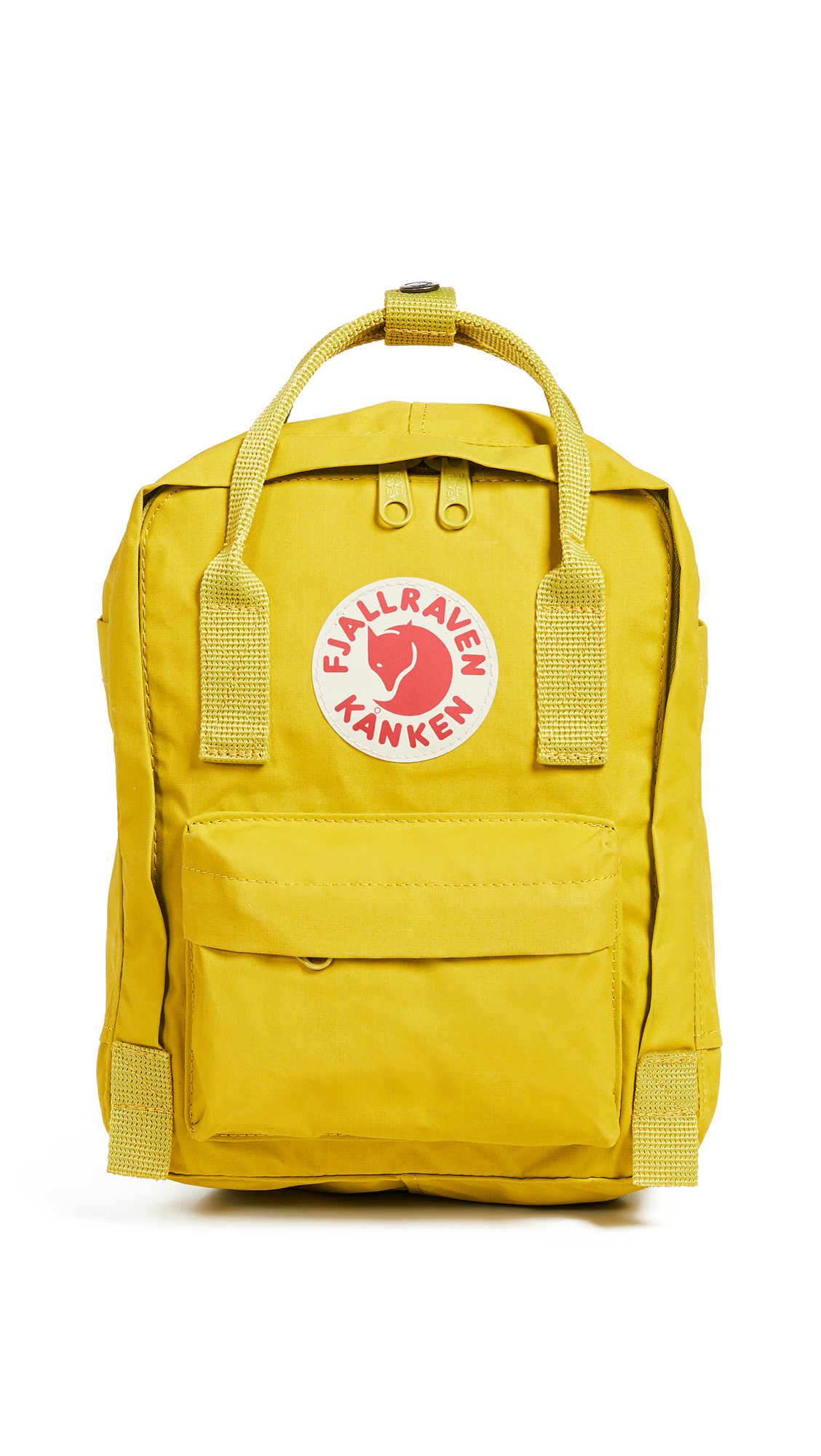 FJALL RAVEN Kanken Mini Backpack in Birch Green