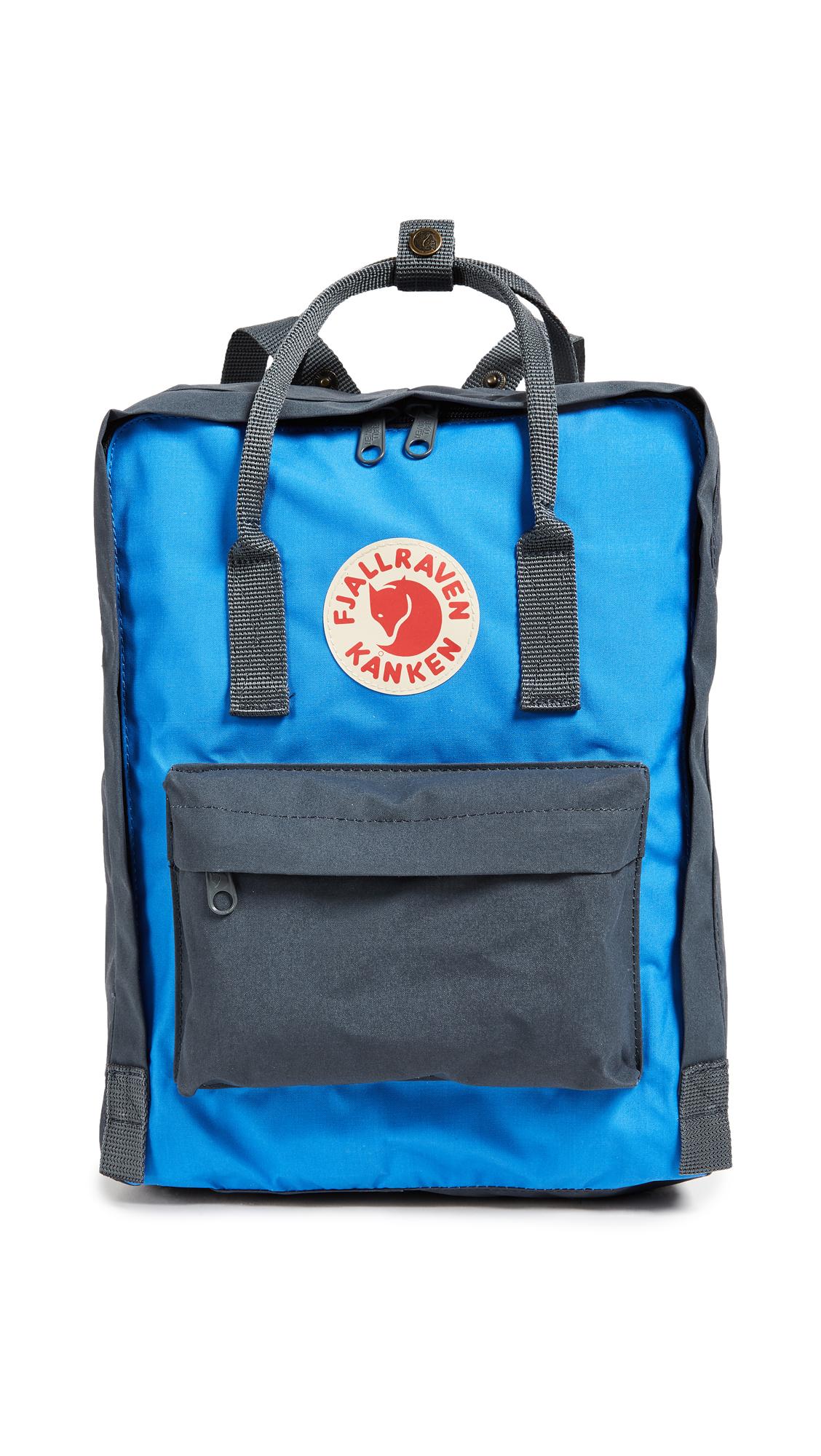 Fjallraven Kanken Backpack - Graphite/Un Blue