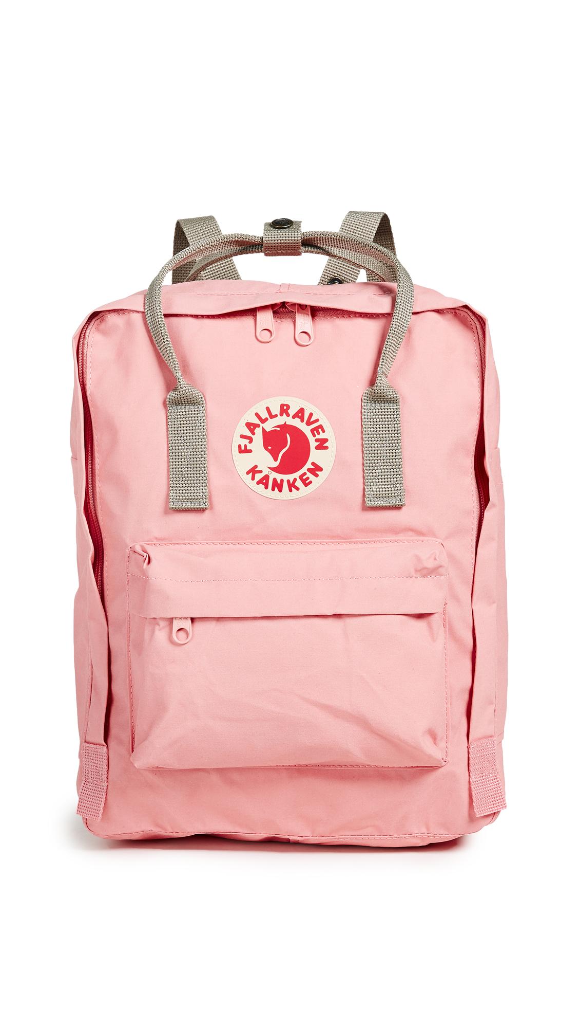 Fjallraven Kanken Backpack - Fog/Pink