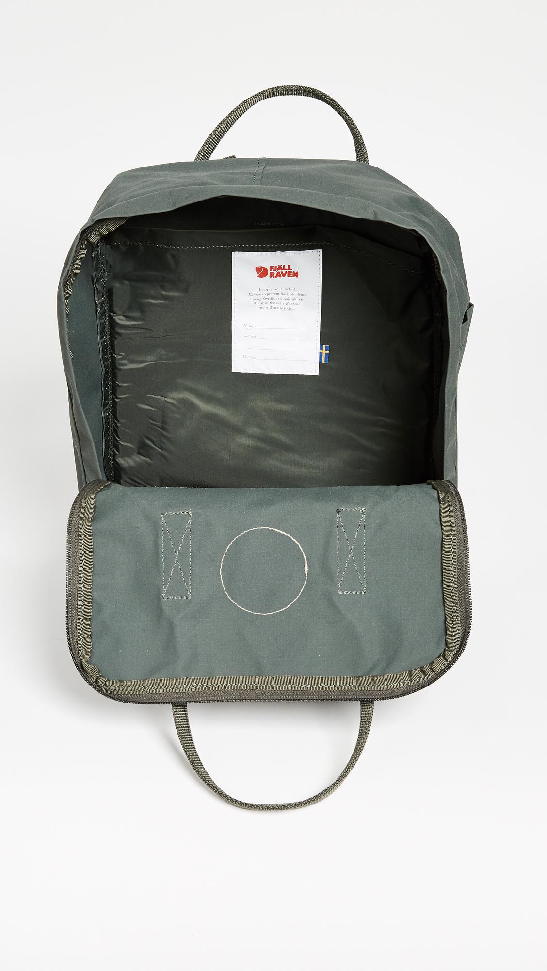 Fjallraven Kanken Backpack Shopbop Classic Birch Green