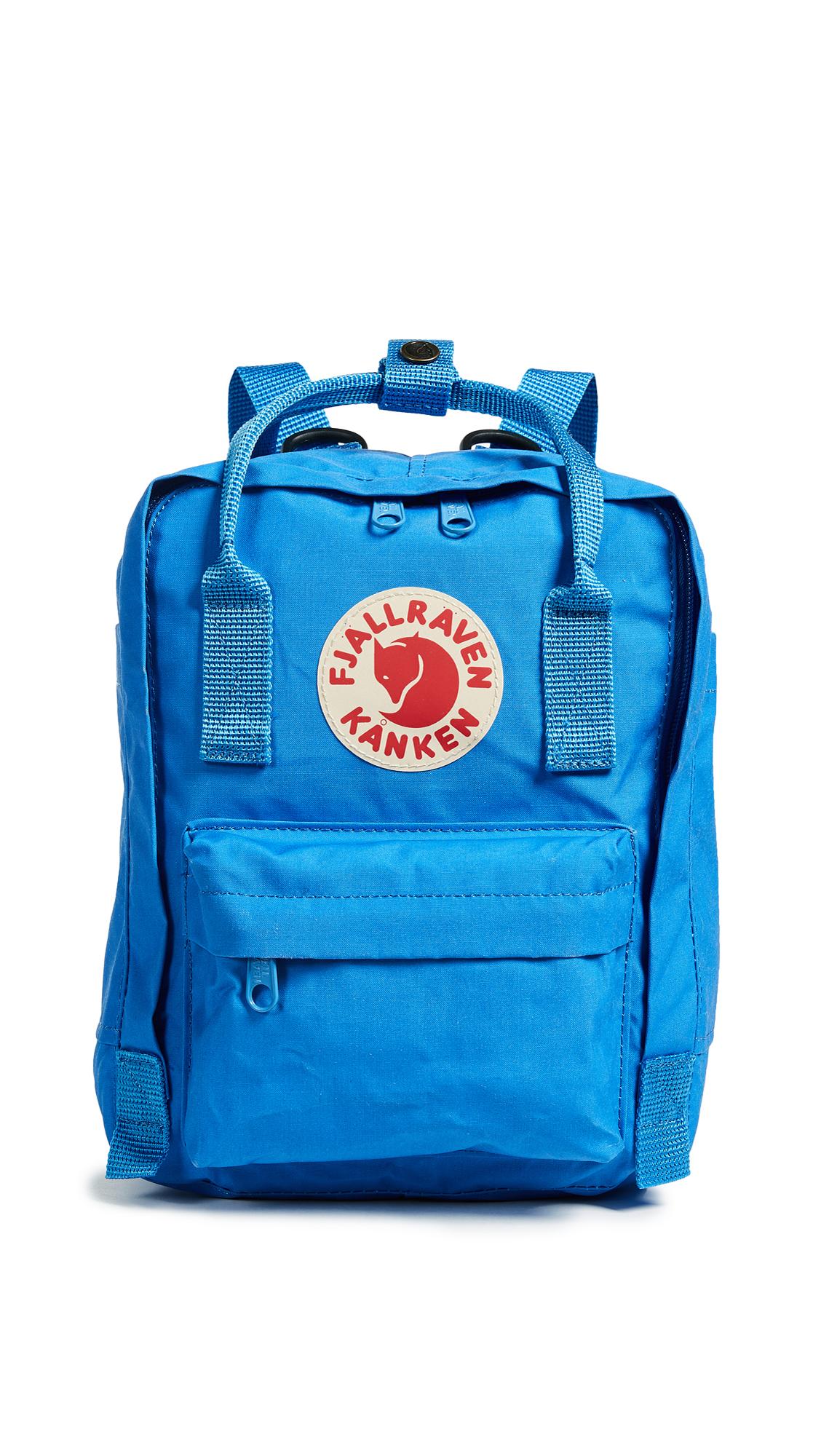 Fjallraven Kanken Mini Backpack - Un Blue
