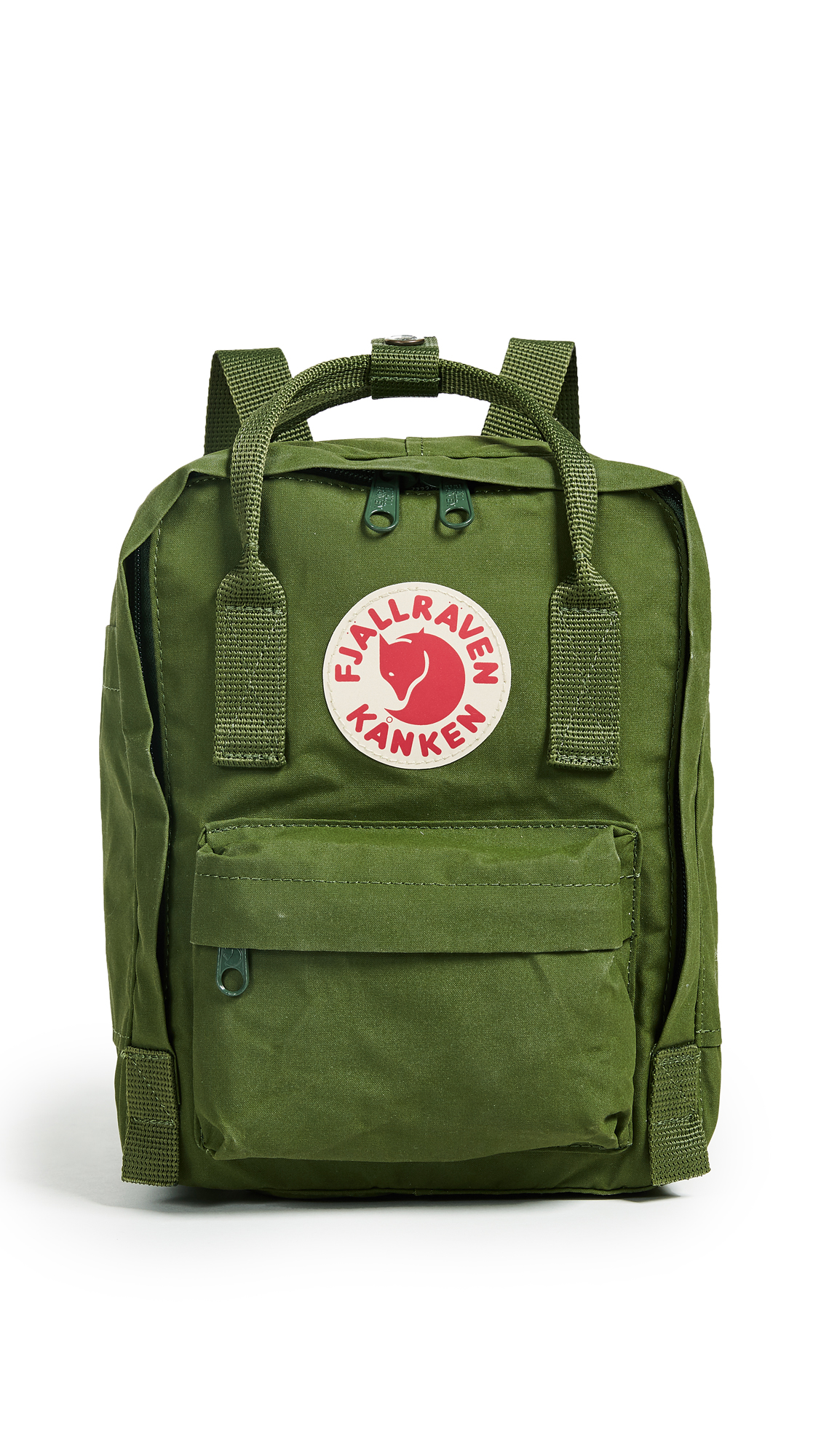 Fjallraven Kanken Mini Backpack - Leaf Green
