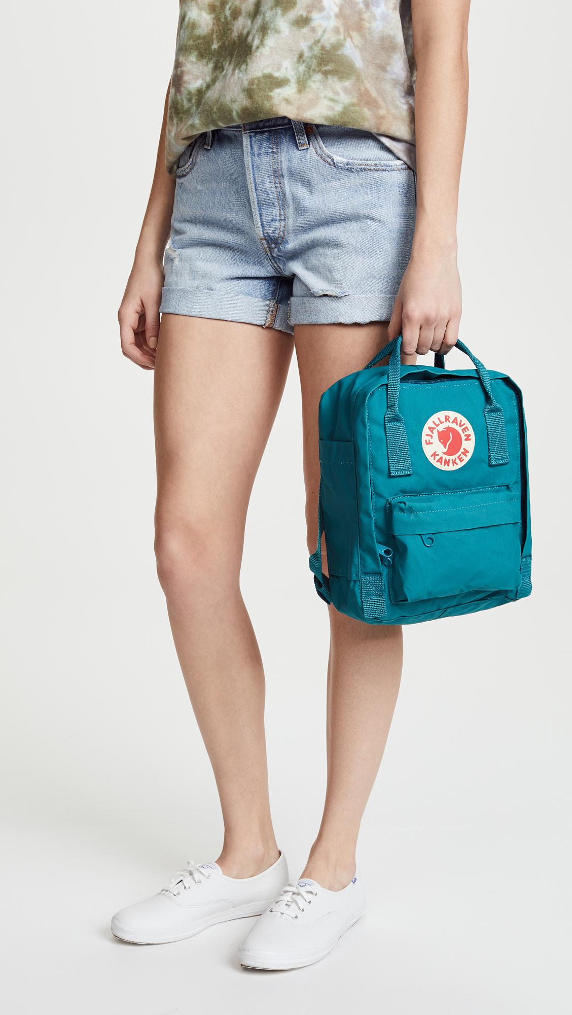 Fjallraven Kanken Mini Backpack Shopbop Classic Ocean Green