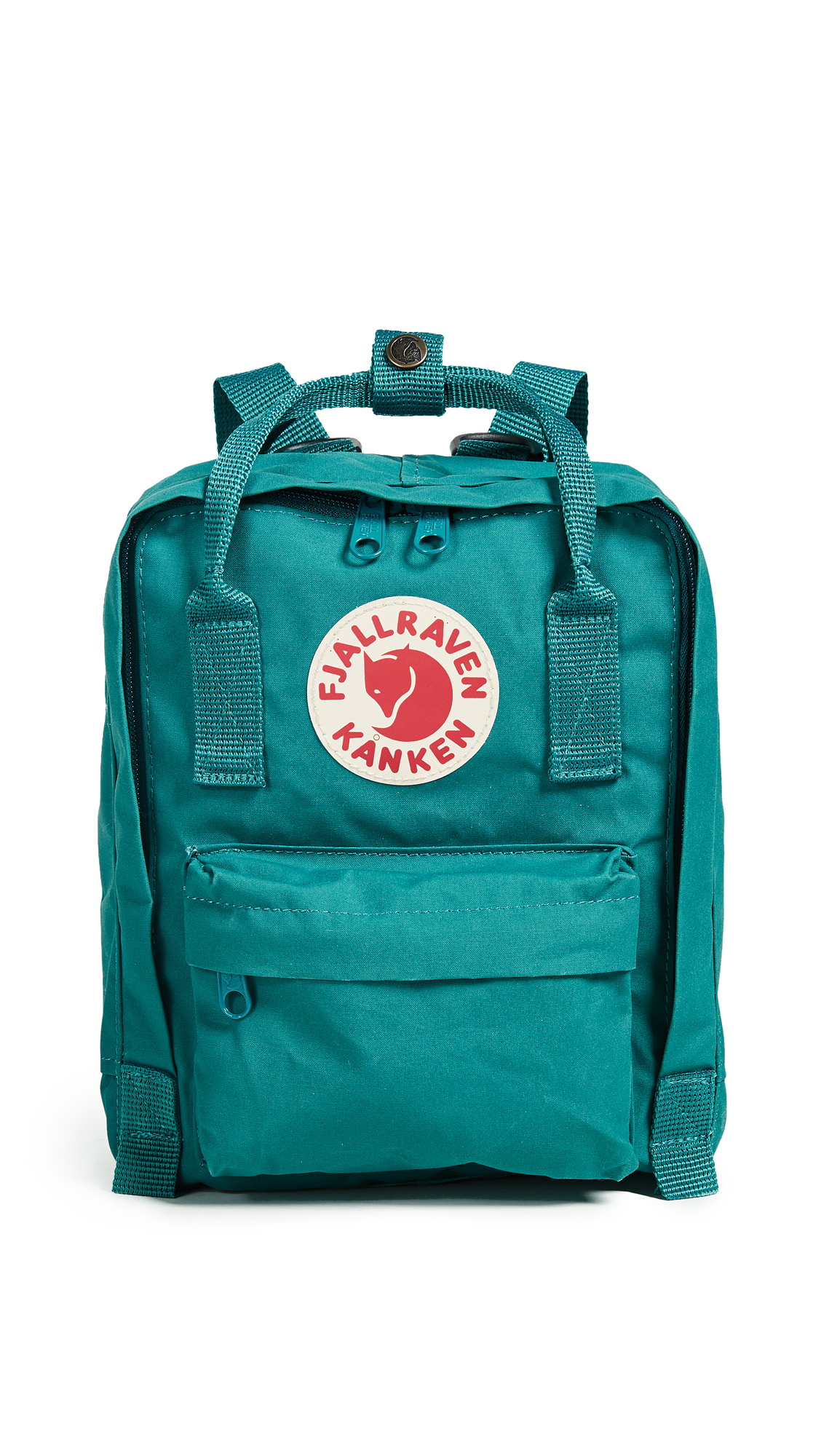 Fjallraven Kanken Mini Backpack - Ocean Green