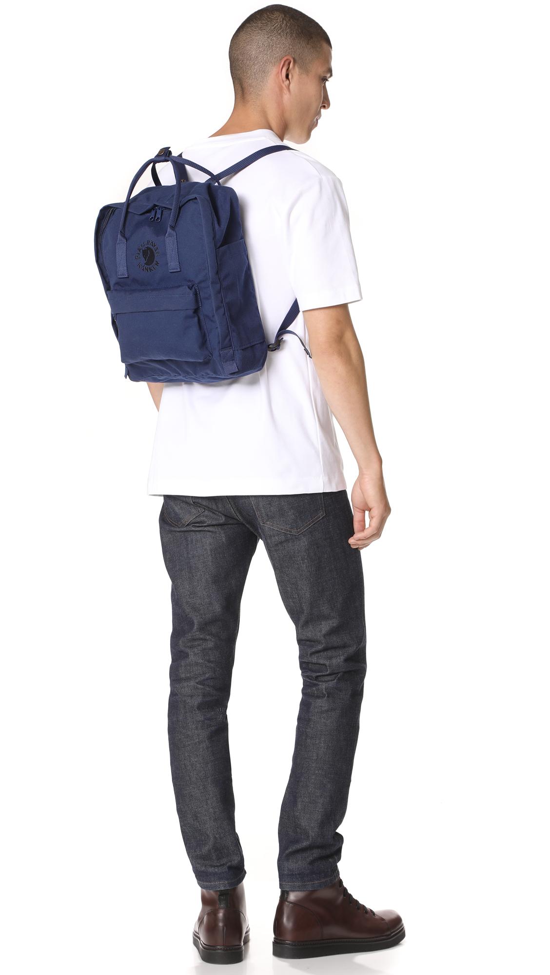 Fjallraven Re-Kanken Backpack | EAST DANE