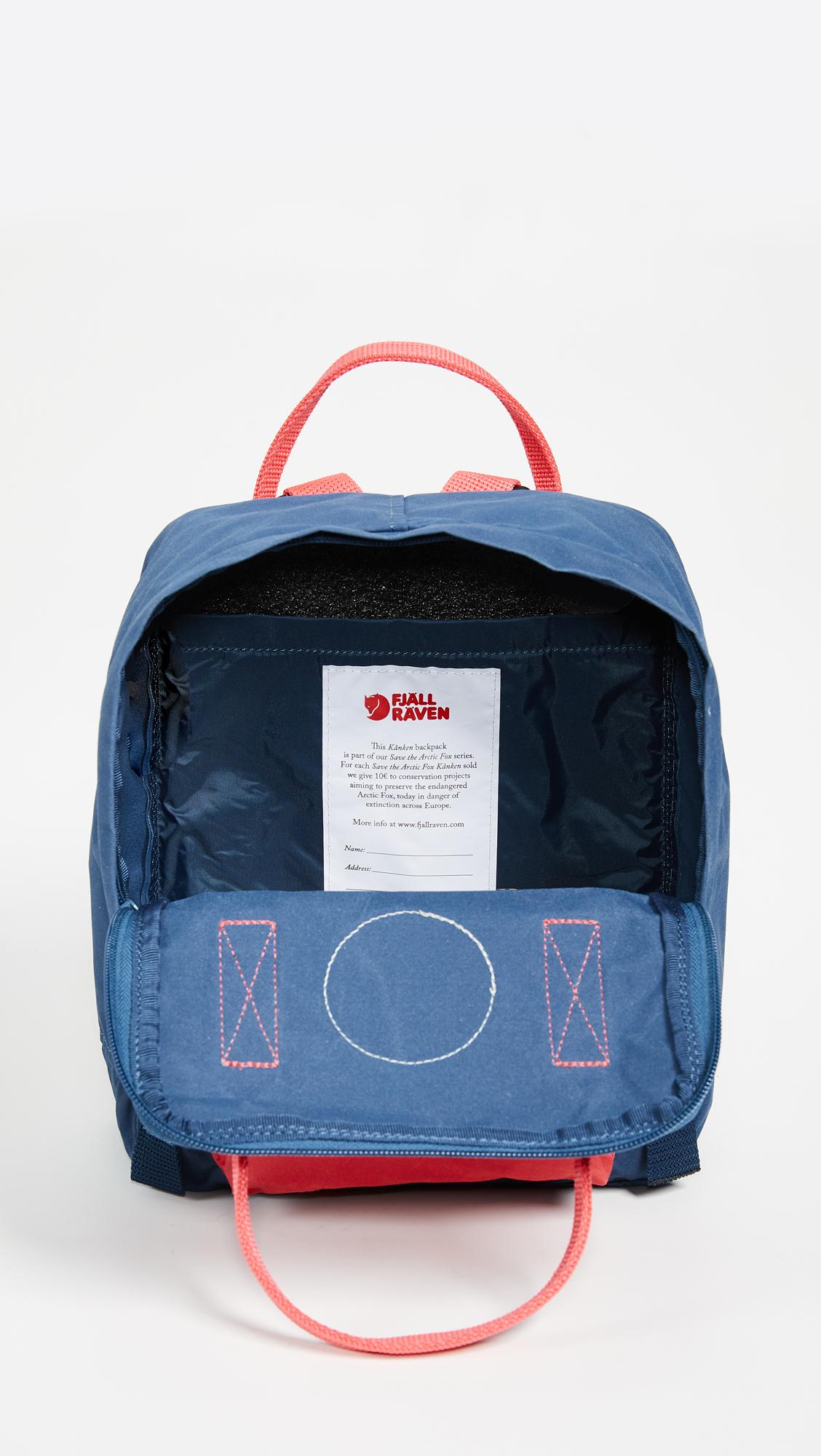 20a8cc570 Fjallraven Save the Arctic Fox Kanken Mini Backpack | SHOPBOP