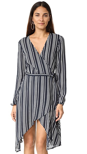 findersKEEPERS Ira Dress - Navy Stripe