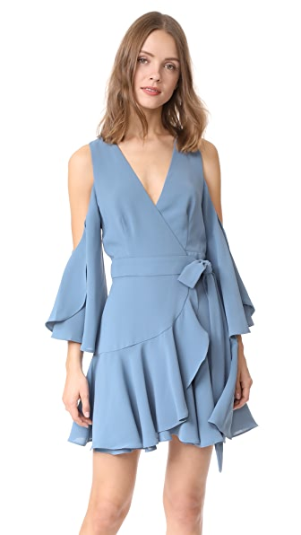 findersKEEPERS Patience Wrap Dress