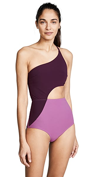 Flagpole Ali One Piece In Orchid/Port