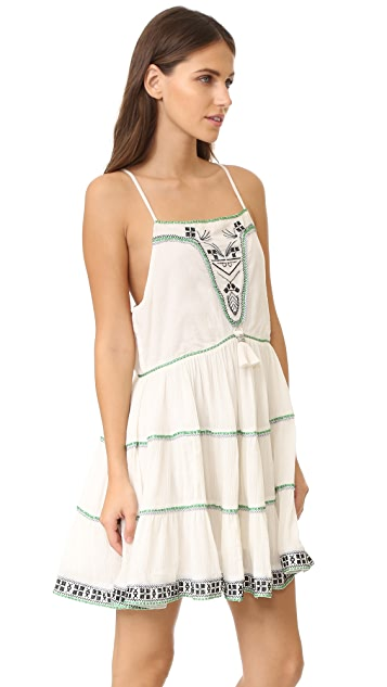 Flannel Australia Birds of Paradise Cami Dress