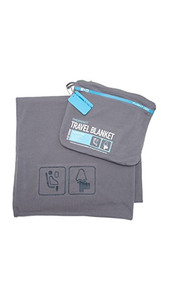 Flight 001 Travel Blanket - Charcoal