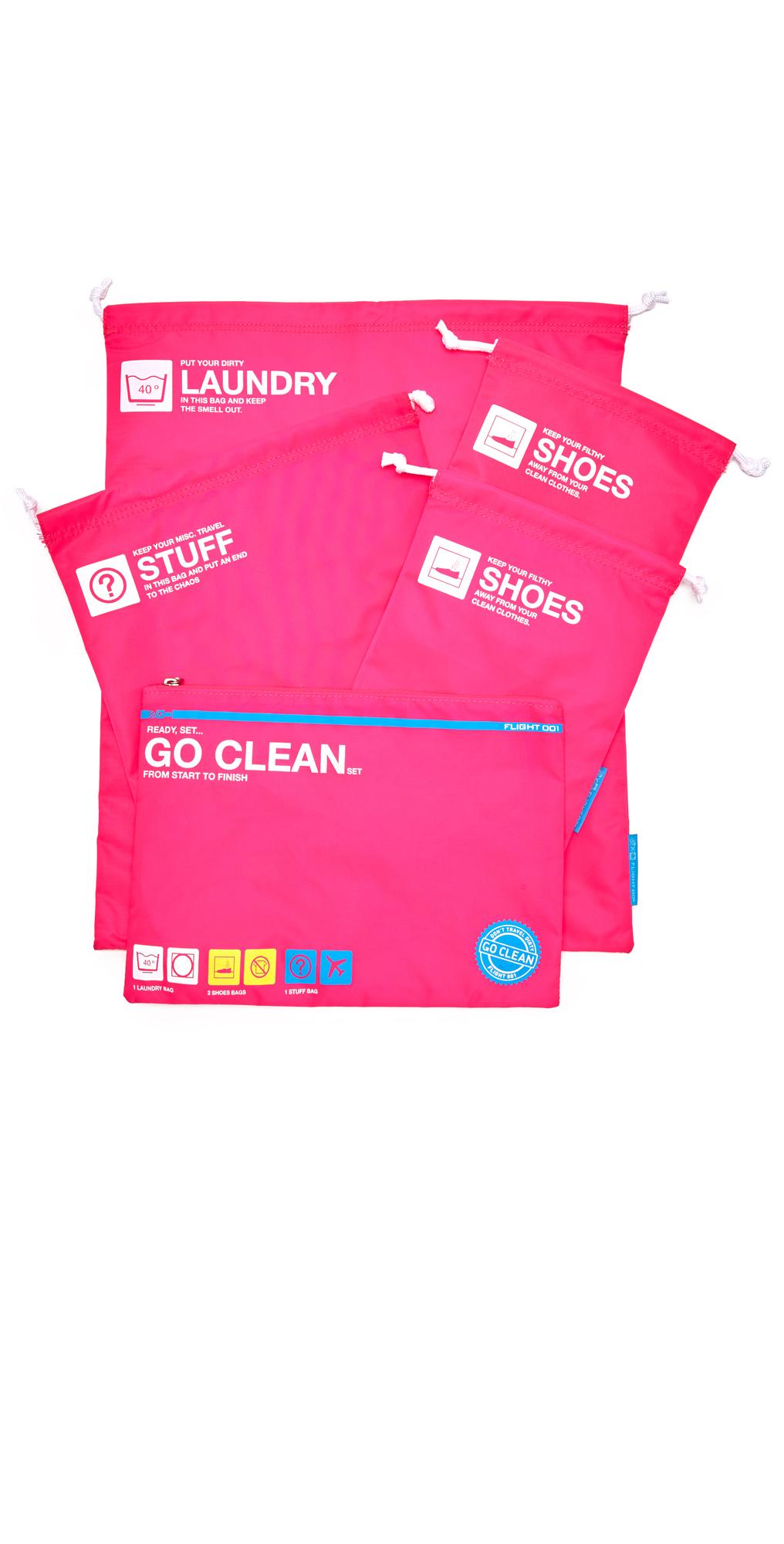 Go Clean Bag Set Flight 001