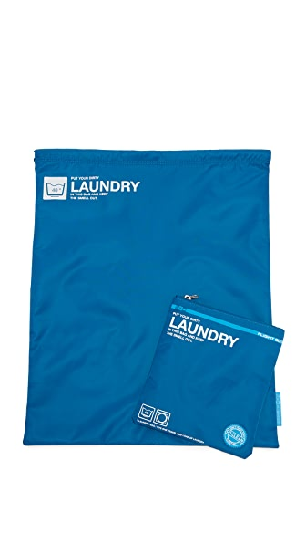 Flight 001 Go Clean Laundry Bag - Blue