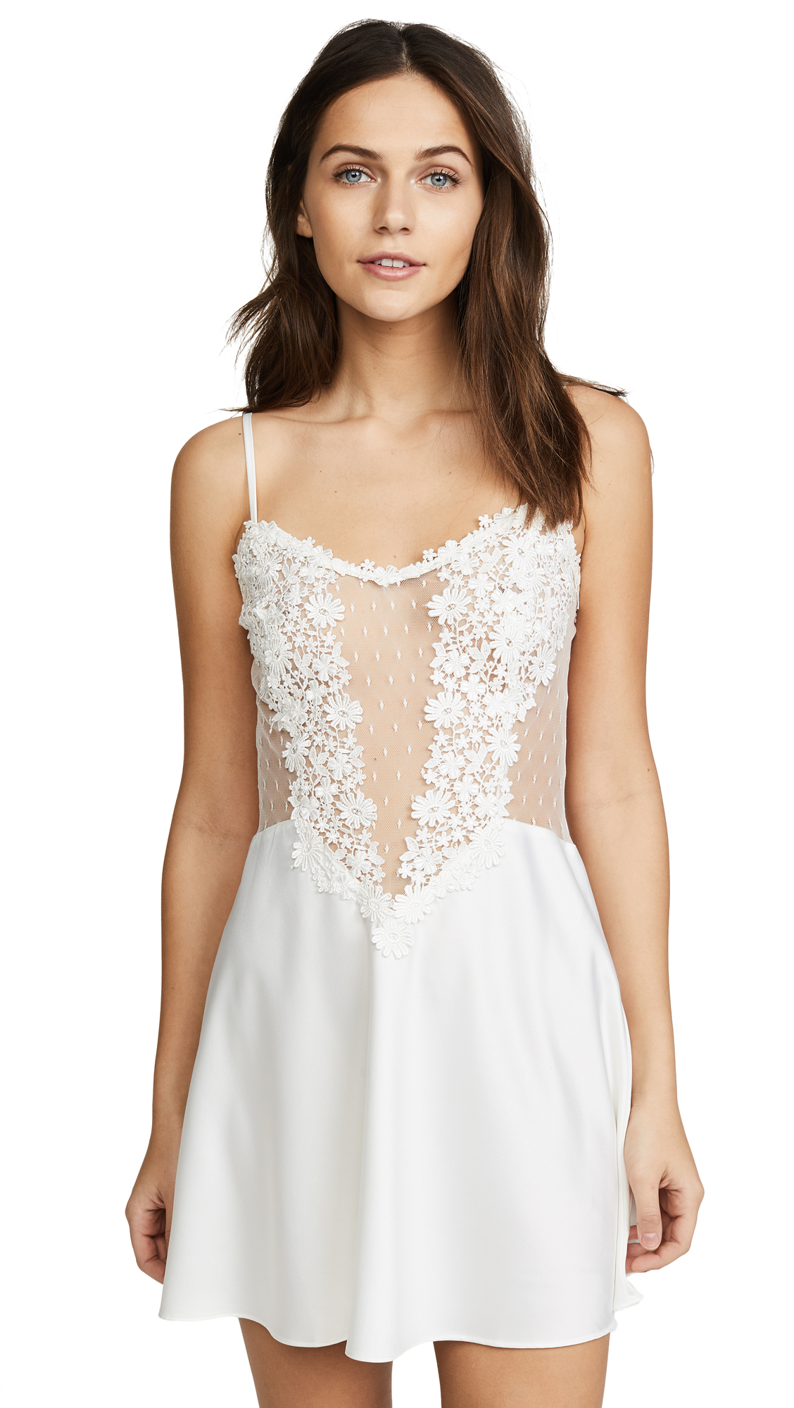 Buy Flora Nikrooz online - photo of Flora Nikrooz Showstopper Chemise With Lace