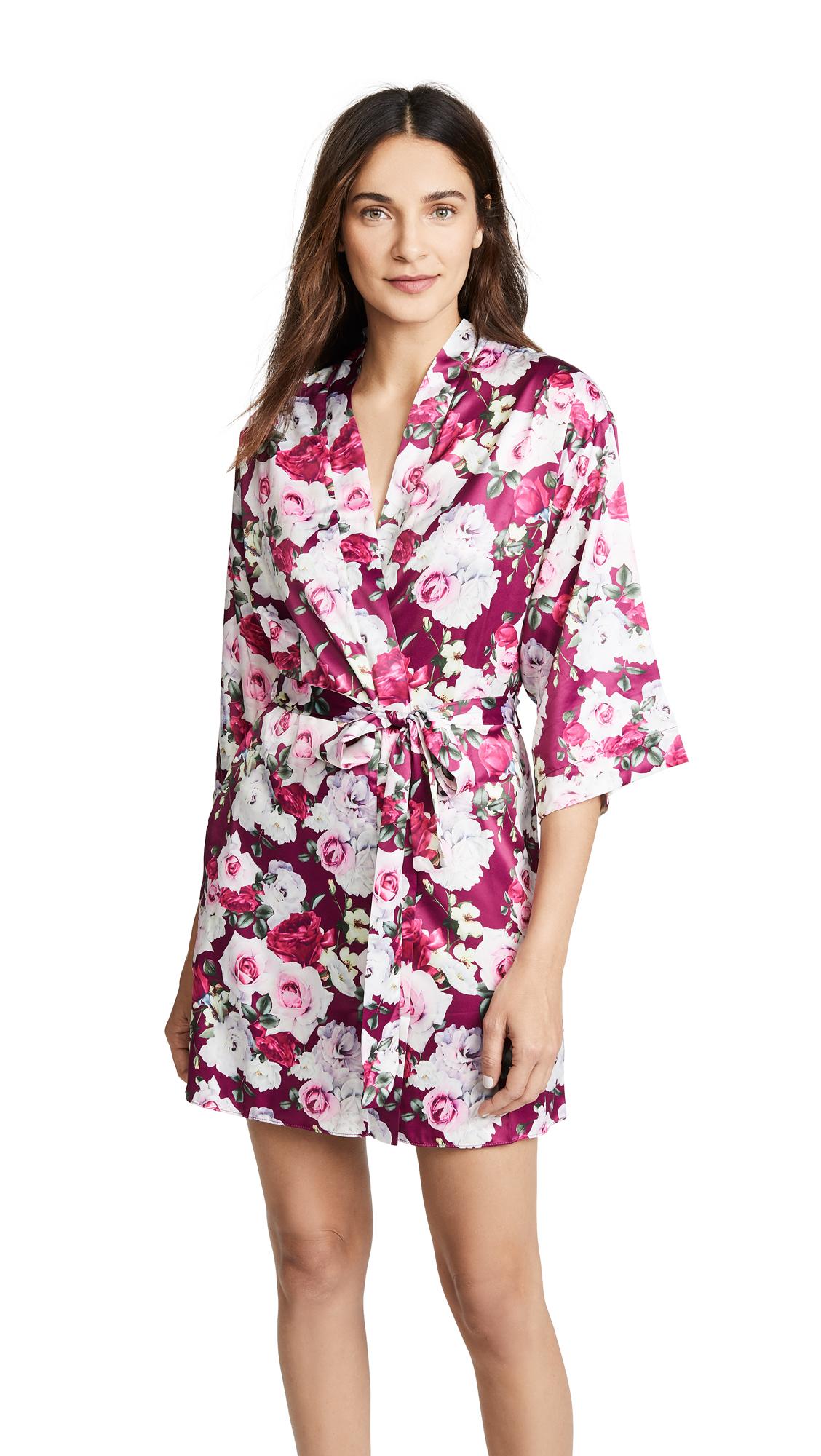 FLORA NIKROOZ Alejandra Floral Robe