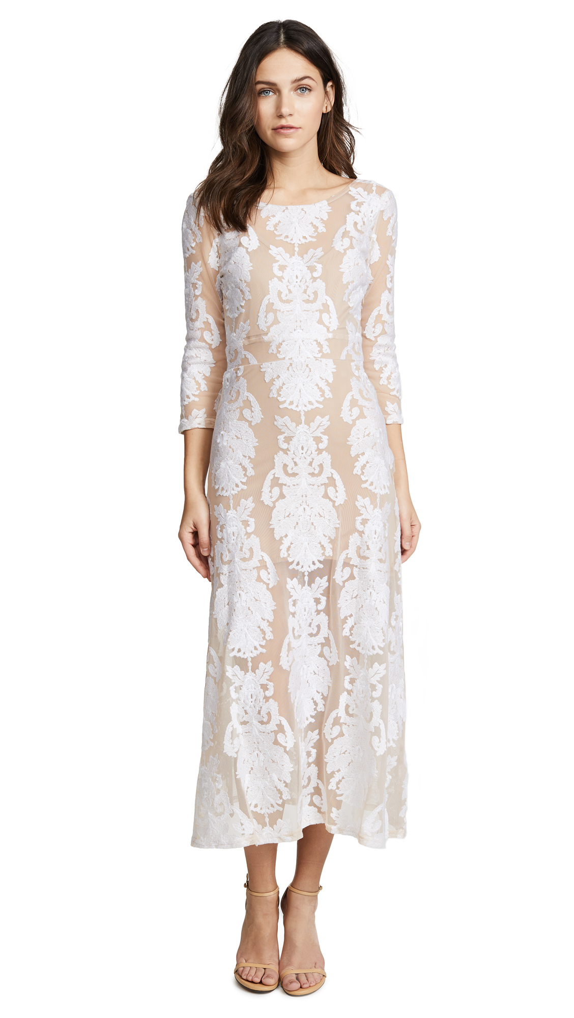 For Love & Lemons San Marcos Dress In White