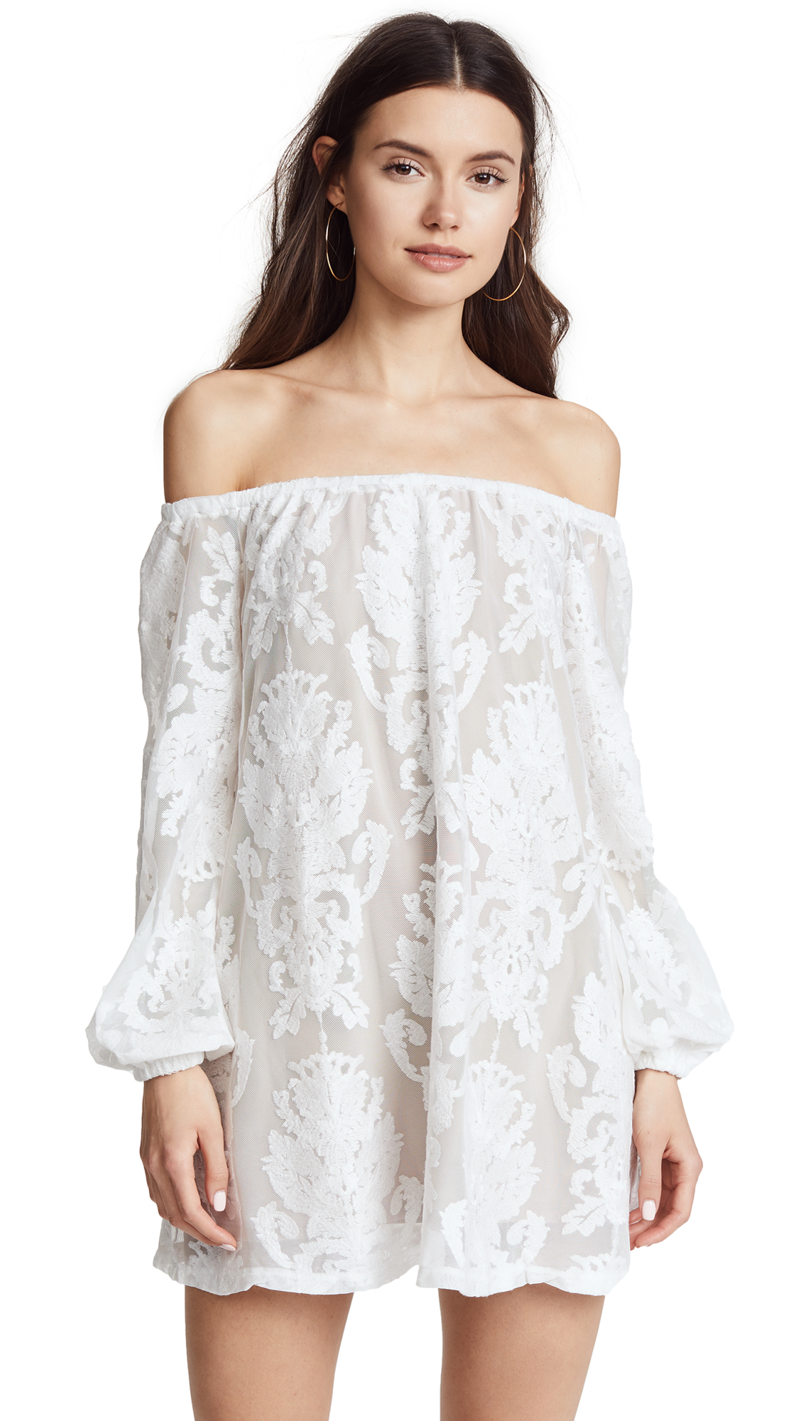 For Love & Lemons Precioso Dress - Ivory