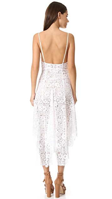 For Love & Lemons Rosemary Midi Dress