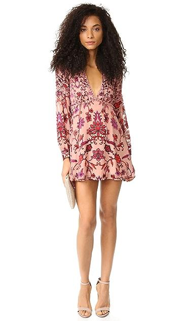 For Love & Lemons Saffron Mini Dress
