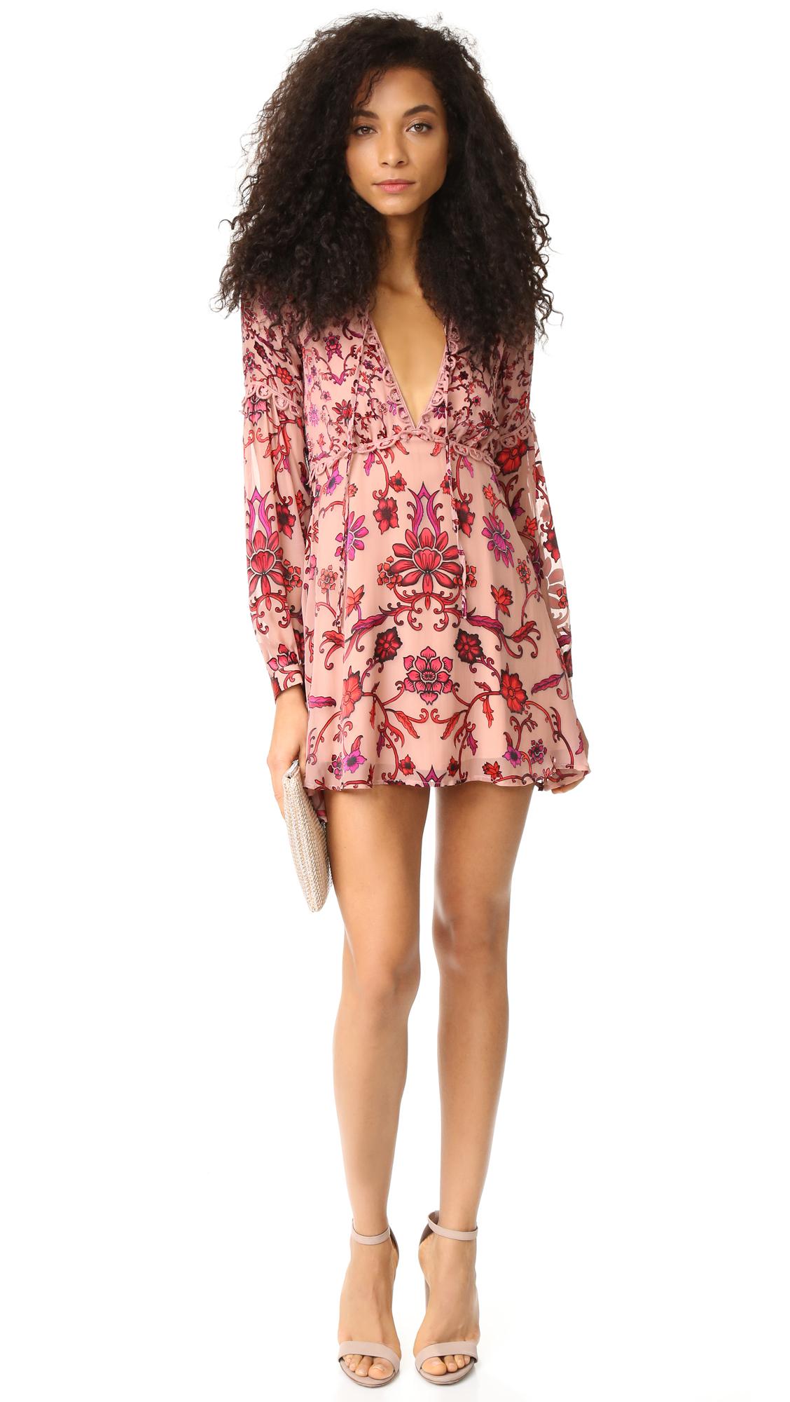 215e5c5b67 For Love   Lemons Saffron Mini Dress
