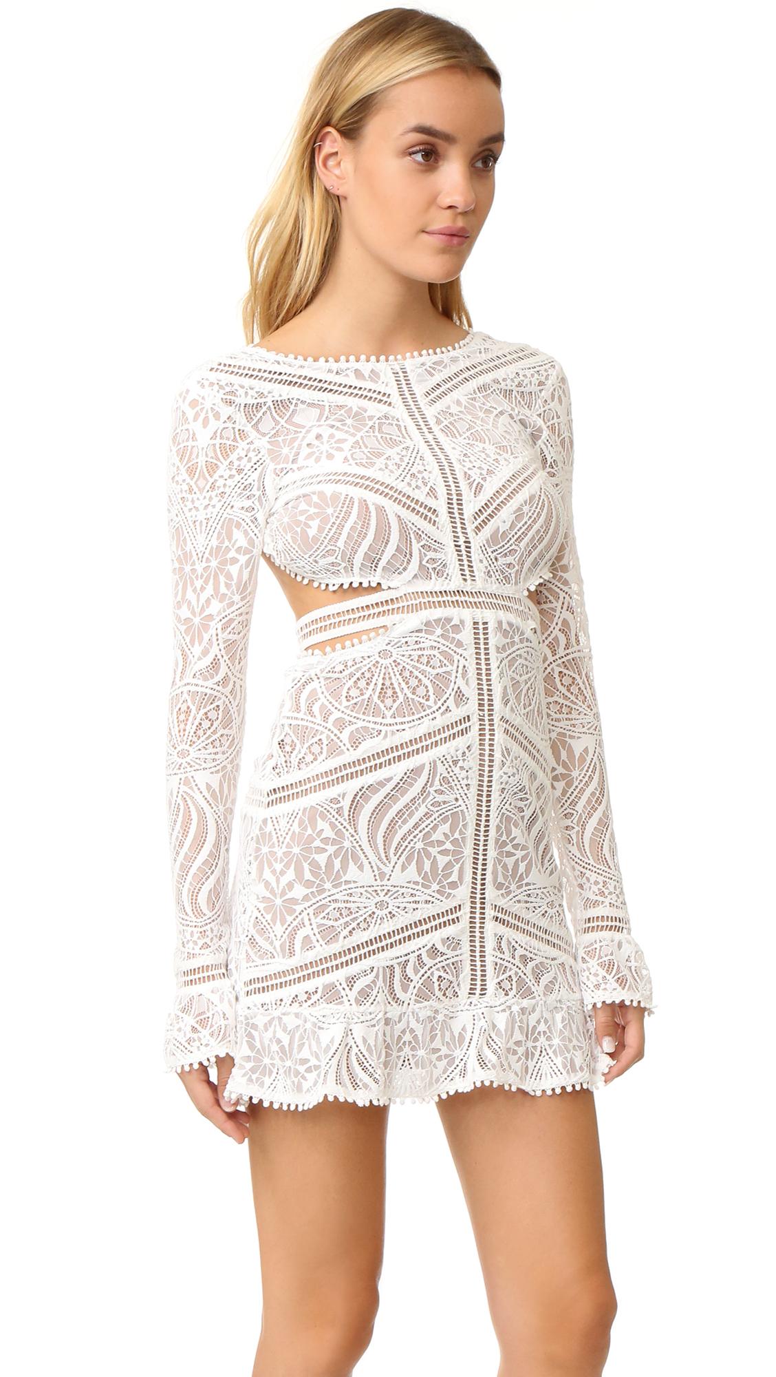 48c50c20bb151 For Love & Lemons Emerie Cutout Dress | SHOPBOP