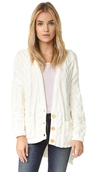 For Love & Lemons Knitz Greenwich Cardigan