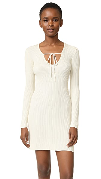 For Love & Lemons Knitz Delancey Mini Dress