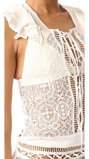 For Love & Lemons Martinique Maxi Dress