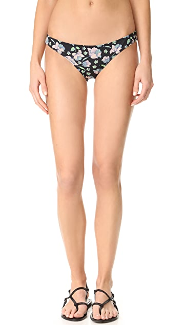 For Love & Lemons Tulip Low Rise Bikini Bottoms