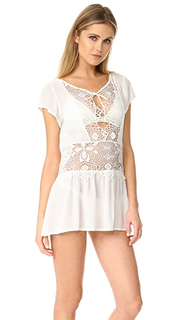 For Love & Lemons St Kitts Mini Dress