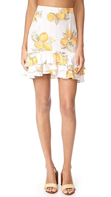 For Love & Lemons Limonada Skirt