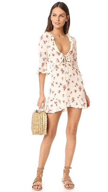 For Love & Lemons Cherry Sundress