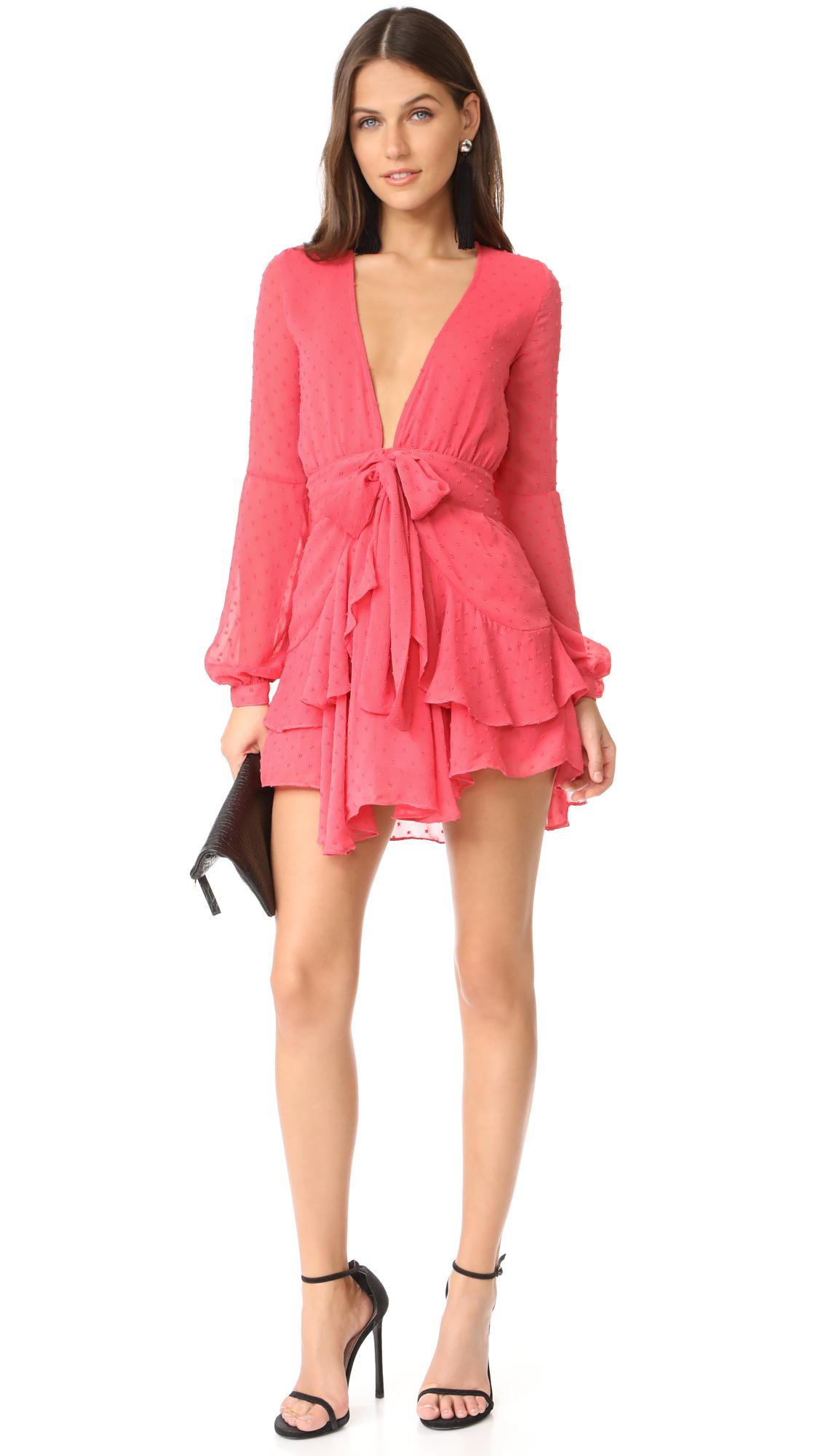 ca1f042f6264 For Love & Lemons Tarta Long Sleeve Mini Dress | SHOPBOP