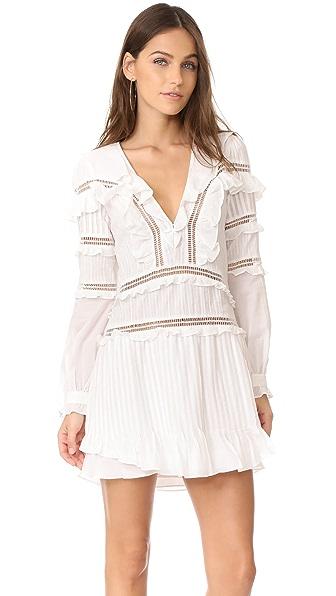 For Love & Lemons Ziggy Pintuck Dress