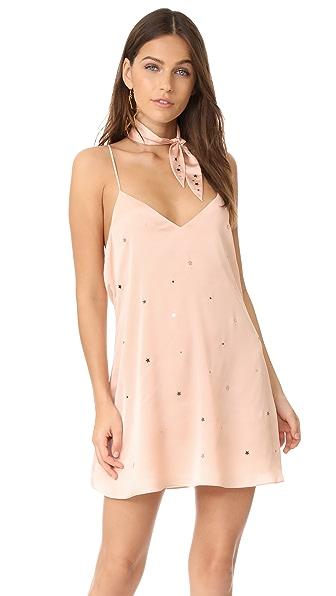 For Love & Lemons Twinkle Slip Dress