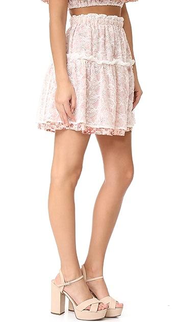 For Love & Lemons Sweet Disposition Skirt