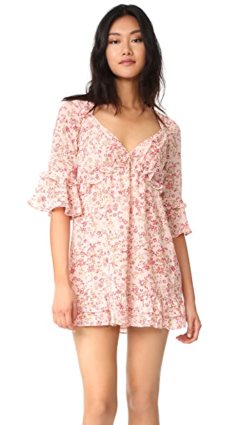 For Love & Lemons Churro Mini Dress at Shopbop