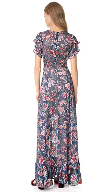 For Love & Lemons Flora Maxi Dress
