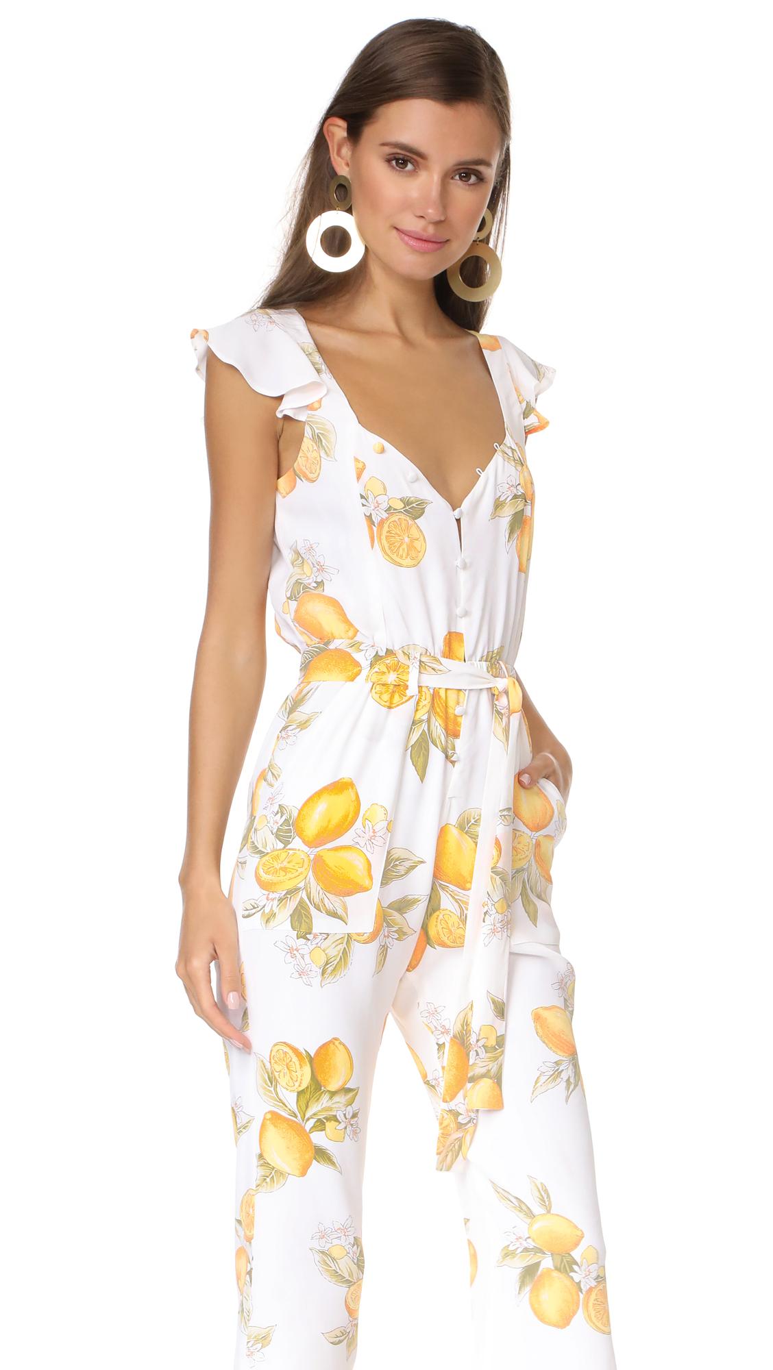 433150dfcec9 For Love & Lemons Limonada Jumpsuit   SHOPBOP