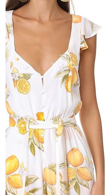 For Love & Lemons Limonada Jumpsuit