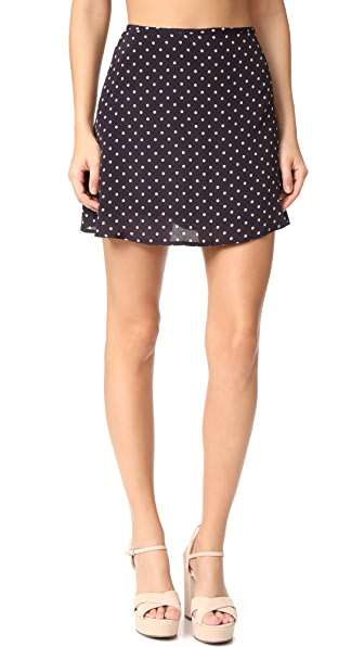 For Love & Lemons Polka Skirt