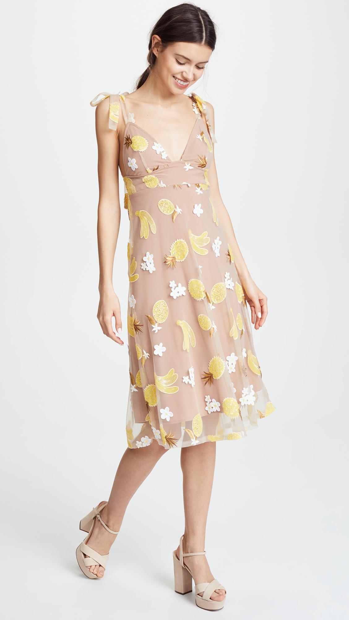 19f899575665 For Love & Lemons Fruitpunch Sequin Midi Dress | SHOPBOP