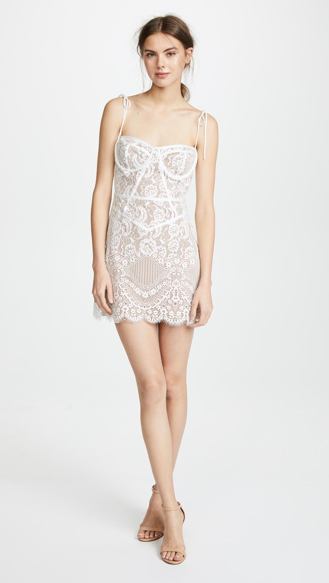 5c171dd745 For Love   Lemons Tati Lace Corset Dress