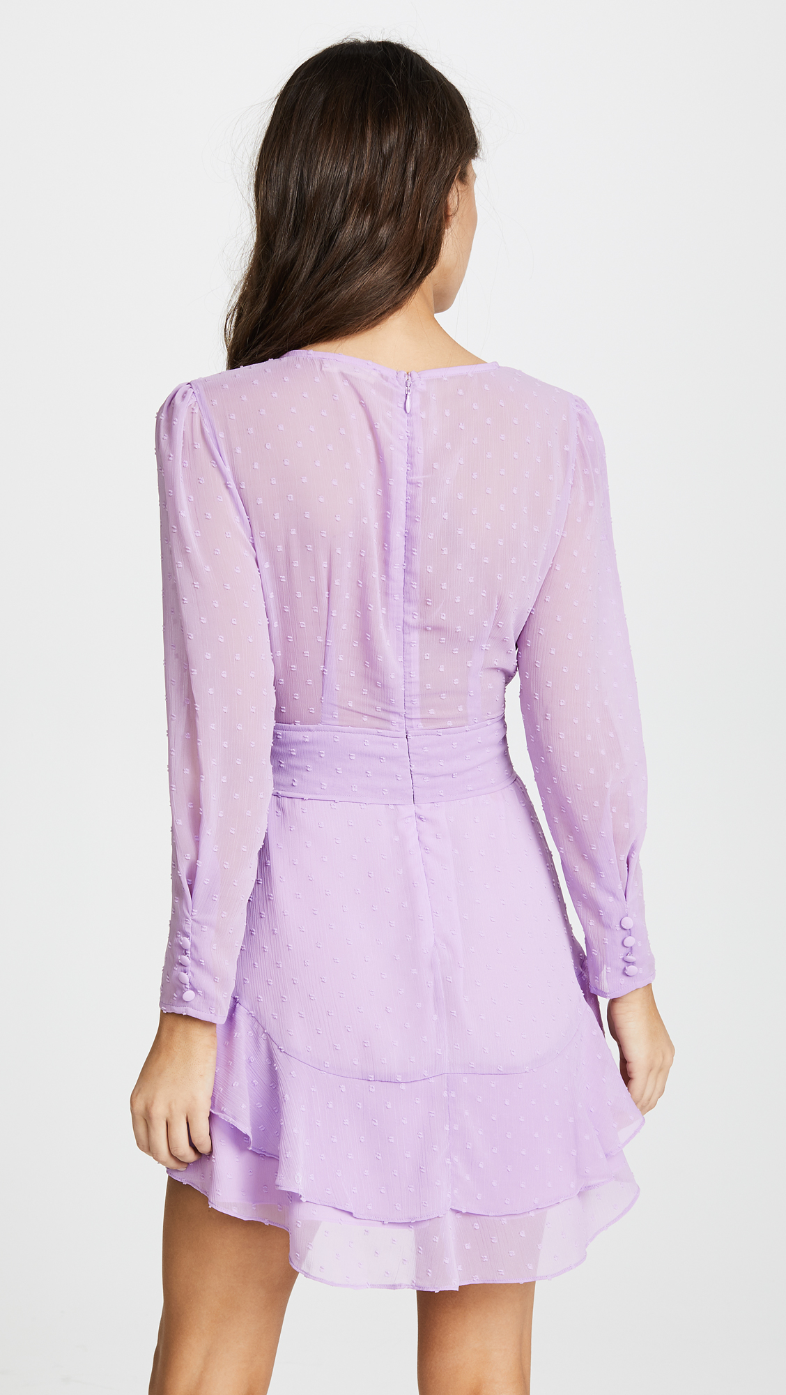 a3c34576f12b For Love   Lemons Tarta Long Sleeve Mini Dress