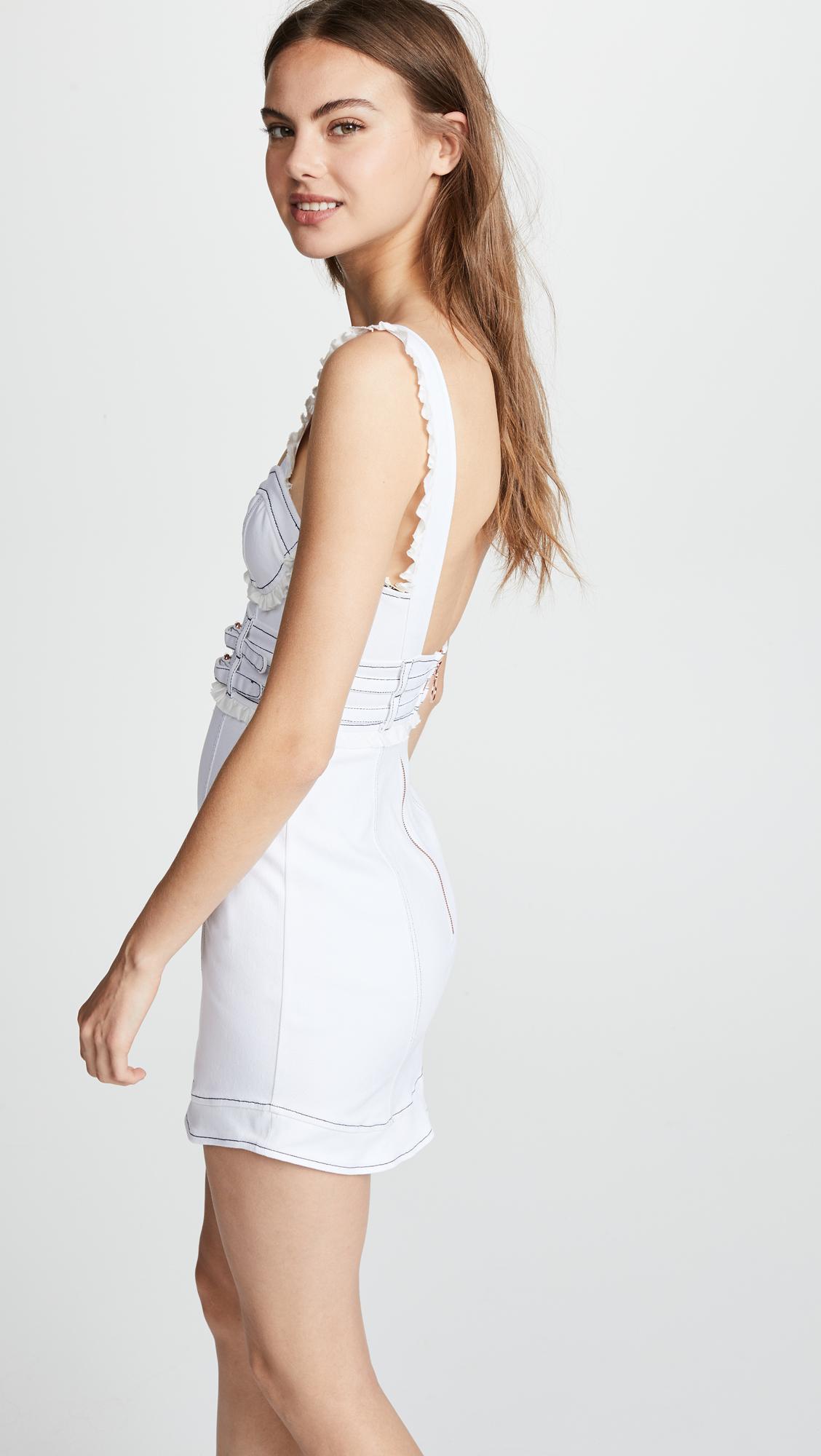 db84878329 For Love   Lemons Daria Denim Dress