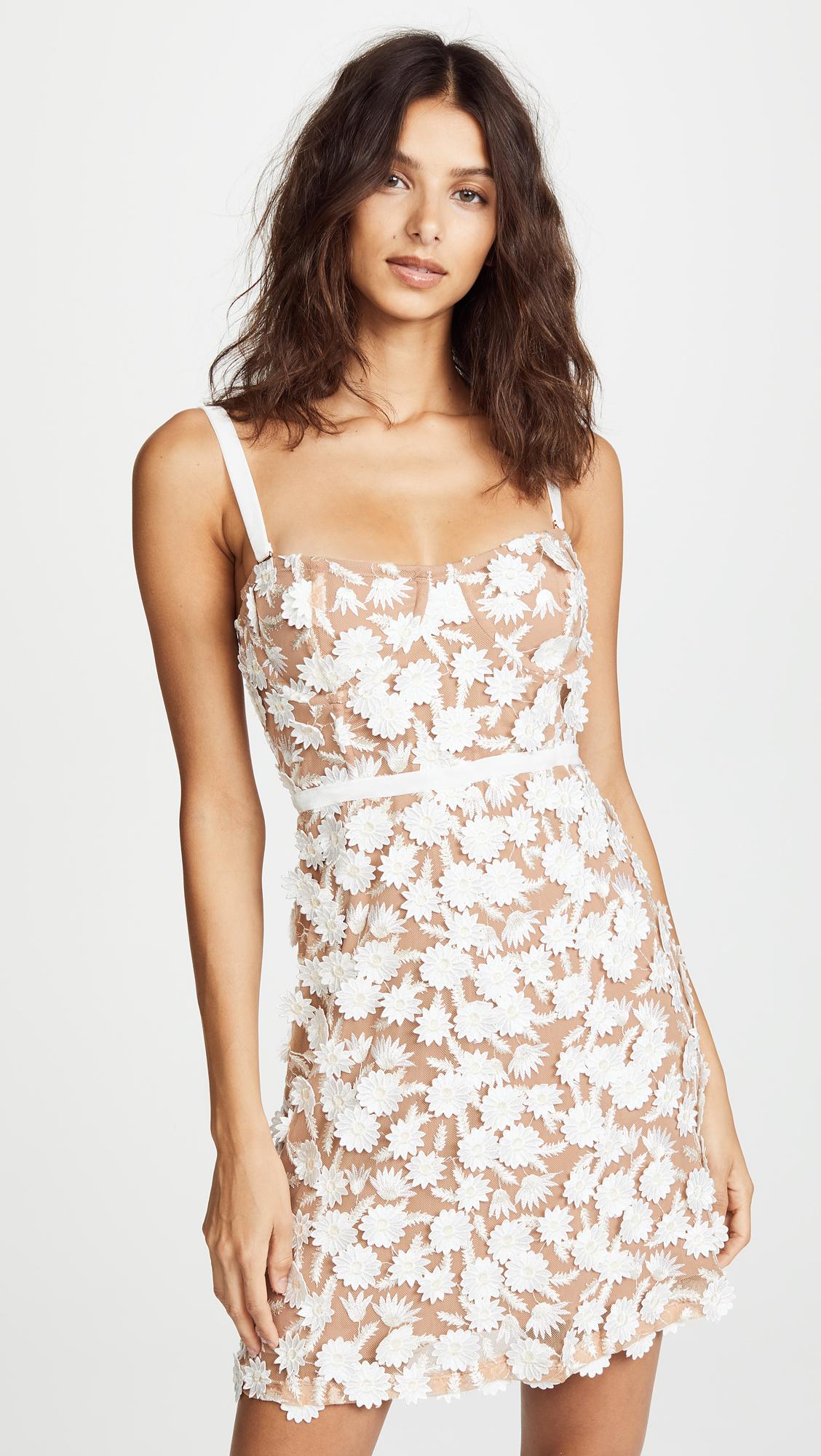 fe4447459e54 For Love & Lemons Beatrice Mini Dress | SHOPBOP