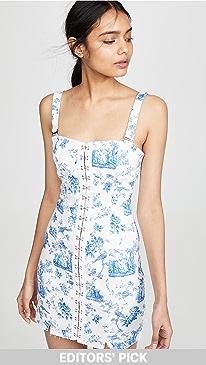 f81007d3c53d For Love   Lemons. Monika Hook Front Mini Dress
